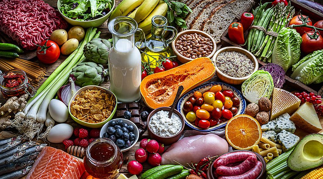Hälsosam kost under (COVID-19)